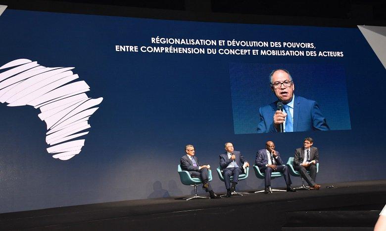 L'enjeu majeur est de favoriser l'intelligence collective au niveau régional