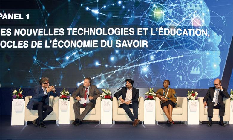 Les nouvelles technologies et l'éducation :  Piliers de l'économie du savoir